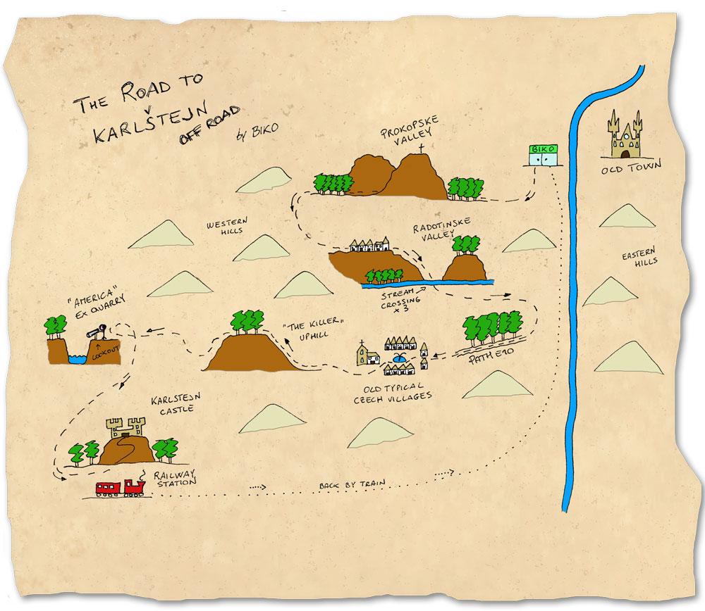 Karlstejn-Off-Road-map