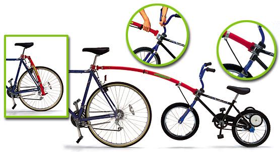 trail gator bike tow bar for kids