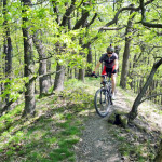 Wild river trail mtb tour