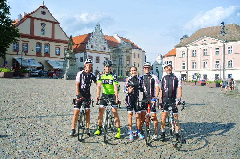 Prague-Vienna road biking holiday  2