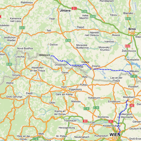 prague-vienna-greenway-bike-tour-map-a