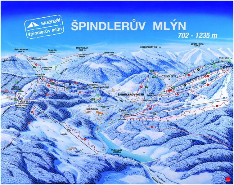 Skking and snowboarding trips Czech Republic