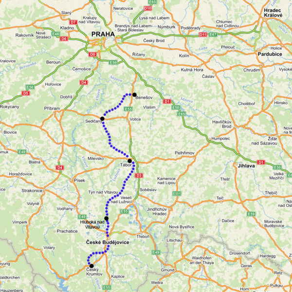 prague-to-krumlov-bike tour