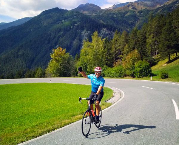 via claudia augusta road bike